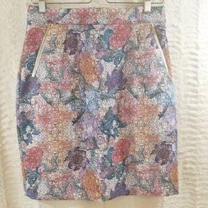 H&M Amazing Color and Graphic Skirt